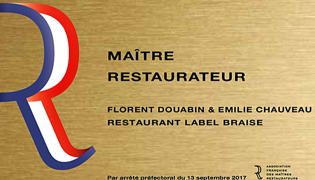 maitre restaurateur label braise